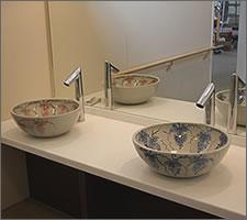 洗面ボウルの設置例48