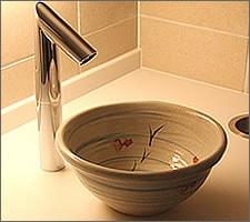 洗面ボウルの設置例51