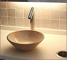 洗面ボウルの設置例58