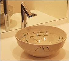 洗面ボウルの設置例60