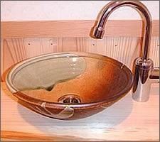 洗面ボウルの設置例63