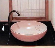 洗面ボウルの設置例66
