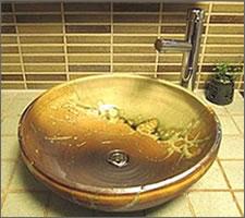 洗面ボウルの設置例70
