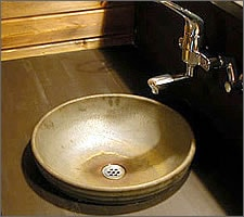 洗面ボウルの設置例12