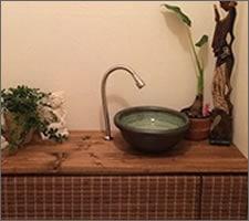 洗面ボウルの設置例3