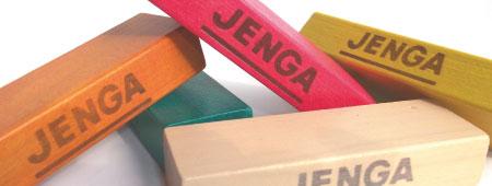 ジェンガの着色塗装イメージ画像