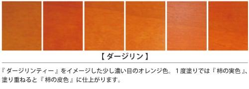 ダージリン塗装サンプル