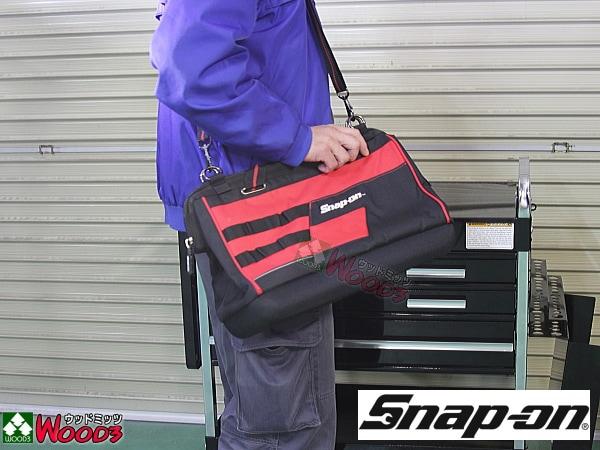 Snap-on ツールバッグ がま口 ショルダーバッグ 中 幅400ミリ