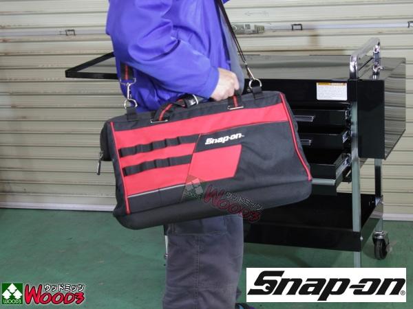 Snap-on ツールバッグ がま口 ショルダーバッグ 大 幅500ミリ