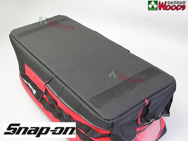 Snap-on ツールバッグ 底面マジックテープ付でカーペットに貼りつきます。