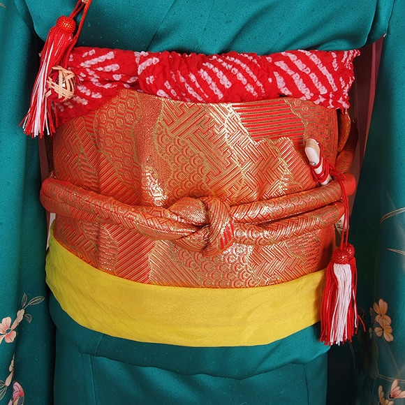 七五三/女児/着物 前帯