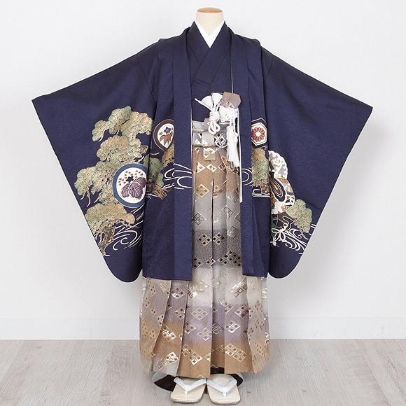 七五三/男児/着物 正面