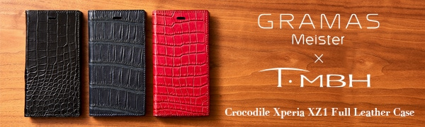GRAMAS Meister×T・MBH Crocodile XZ1 Full Leather Case