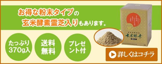 玄米酵素   霊芝(粉末紙箱入)