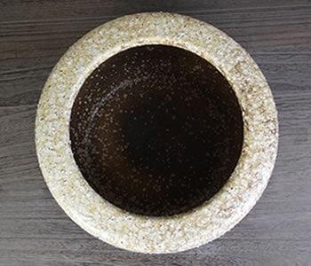 ひばち しがらきやき火鉢 陶器の手焙り火鉢 信楽焼