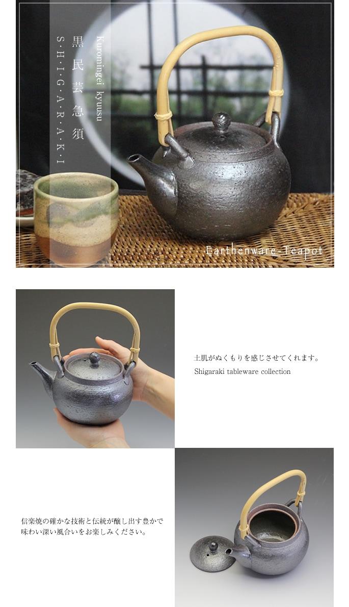 土瓶急須 しがらきやき土瓶急須 陶器 信楽焼