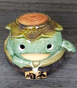 河童おきもの カッパ 陶器かっぱ 信楽焼