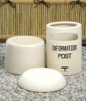 ポスト しがらきやき郵便受け 陶器ポスト 信楽焼
