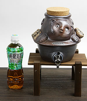 焼酎サーバー 陶器サーバー しがらきやき焼酎サーバー 信楽焼