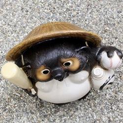 信楽焼 狸の特注品