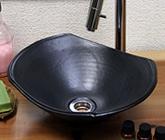 黒マット長角ソリ型