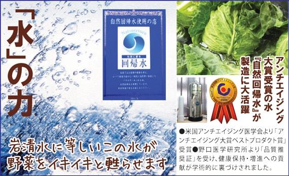 アンチエイジング大賞受賞の水