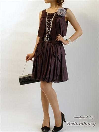 グレーやパープルのドレス2