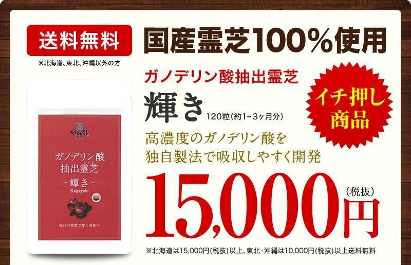 輝き15,000円(税抜)