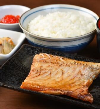焼き釧サバ定食