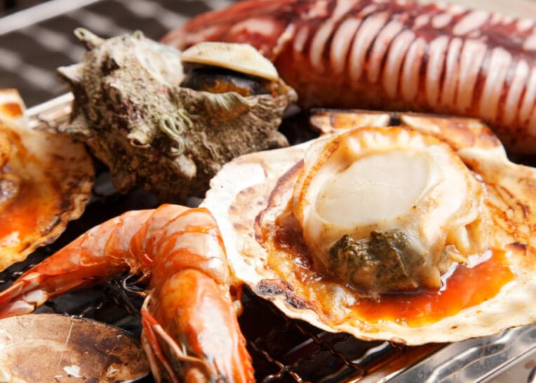 海鮮バーベキュー 大漁丸