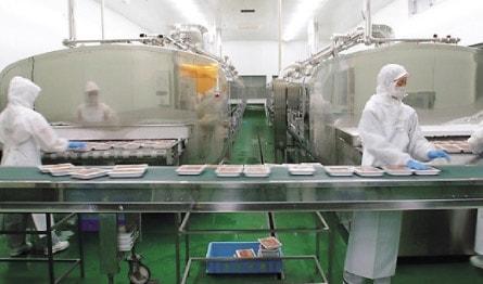いくら生産工場