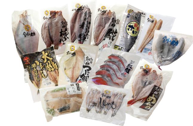 魚屋自慢の焼き魚セット