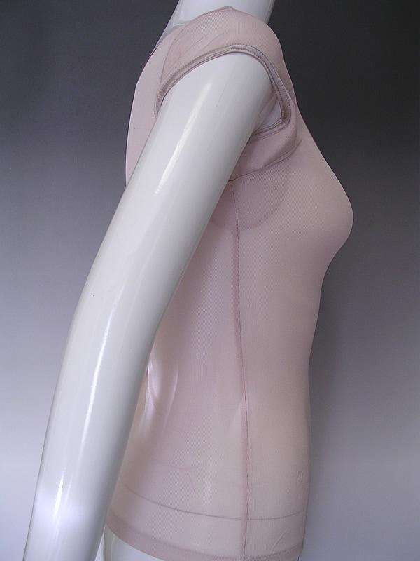 シルクリブフレンチ袖