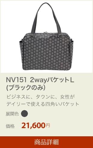 NV151 2wayバケットL(ブラックのみ)