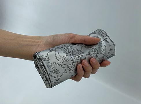 バッグの中に入れるときに入れておく袋にも便利。