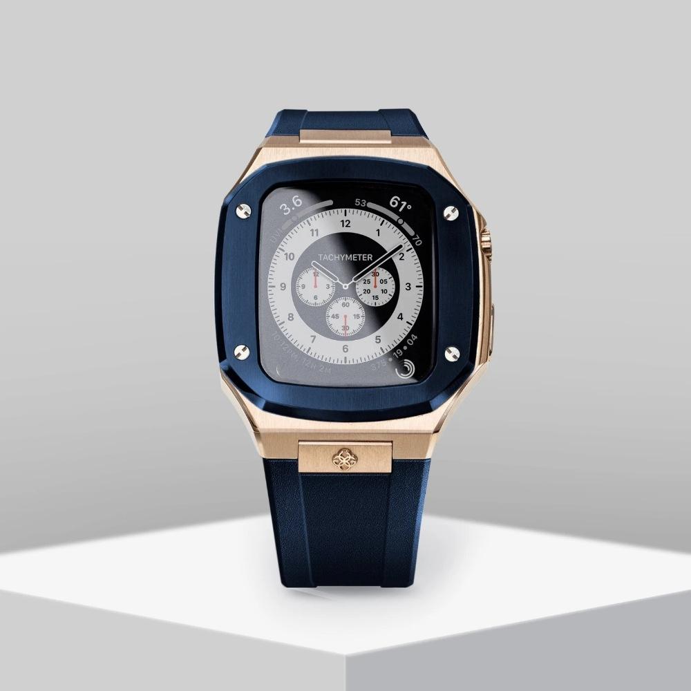 SP44 ROSE GOLD/MIDNIGHT BLUE