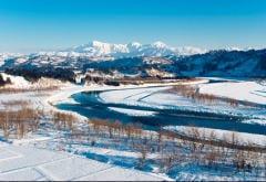 小千谷市を流れる信濃川