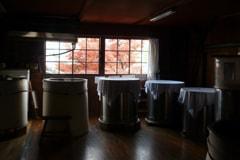 麒麟山の酒樽