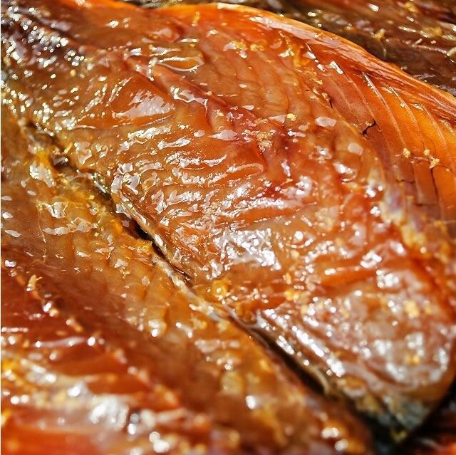 鯖味醂干生姜風味の写真のアップ
