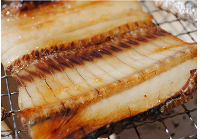 タチウオ干物を焼いた写真
