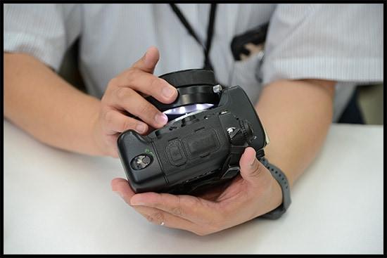 カメラのクリーニング