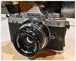 W-Nikkor 3.5cm F1.8+K&Fマウントアダプター