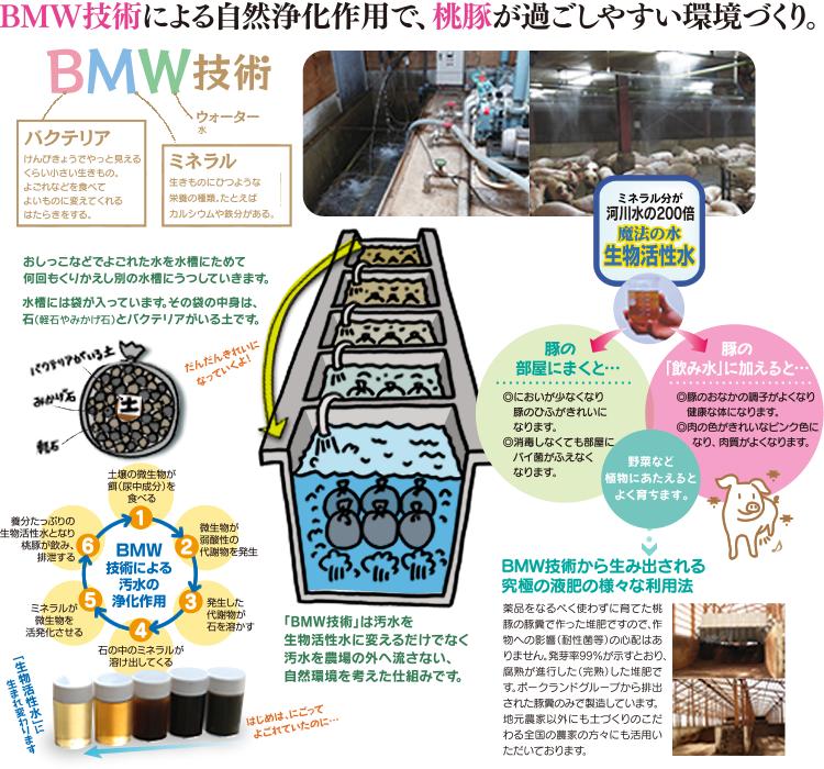 独自のBMW技術概念図