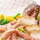 三重県 伊賀上野の里 ロースハム&つるし焼豚詰合せ