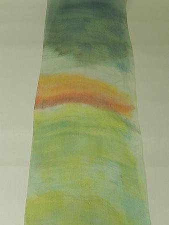 草木染料を使った刷毛染