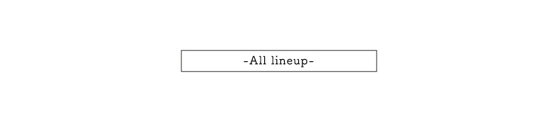 All lineup