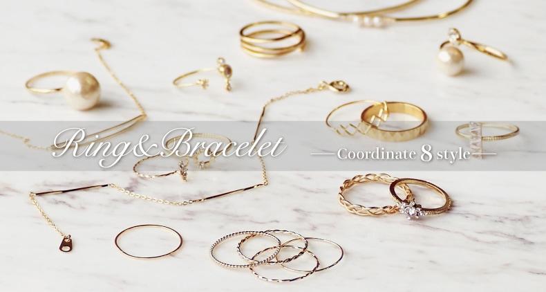 ring and bracelet