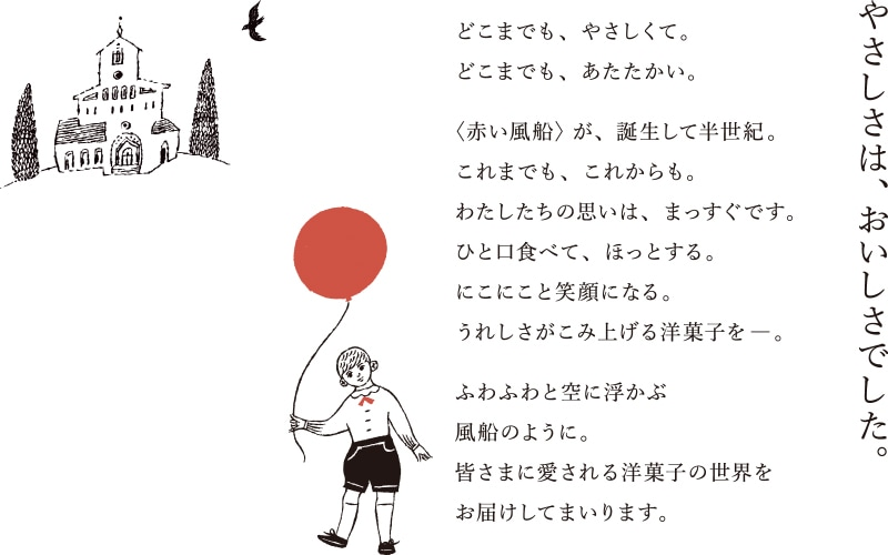[写真]赤い風船