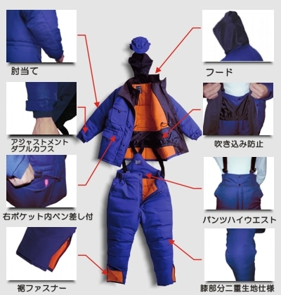 【サンエス】冷凍倉庫用防寒手袋 MB-128 【防寒着・作業服・防寒対策】