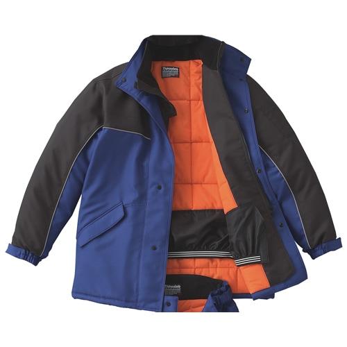 【サンエス】冷凍倉庫用防寒コート ST8001 【防寒着・作業服・防寒対策】